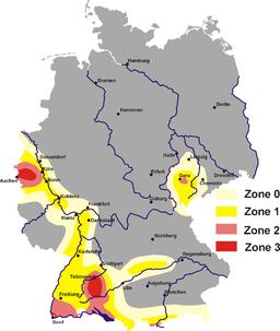 tektonische karte deutschland Erdbeben in Deutschland