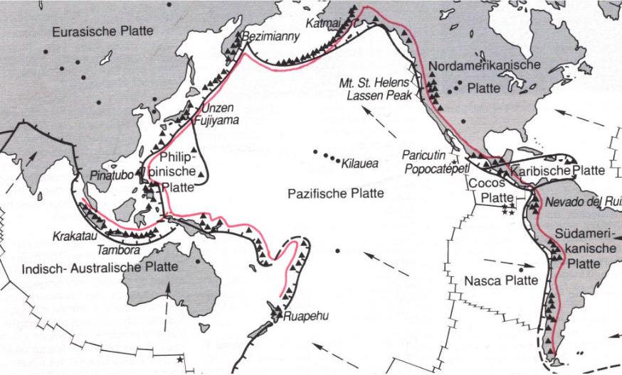 Erdbebengebiete